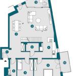 Penthouse (DG), 165.32 m²