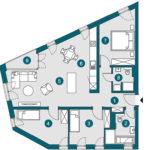 4-Zi., 95.34 m², OG2