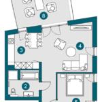 2-Zi., 68.08 m², OG1