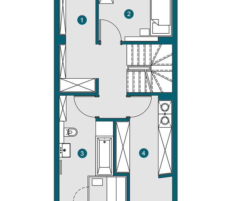 Stadthaus 145.88 m²